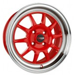 Drag Wheels DR-16 15x8.25 Red