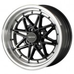 Drag Wheels DR-20 15x7 Black (blank)