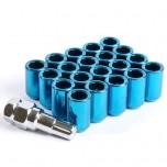 Tuner-nuts blue (x20)