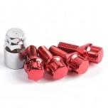 Lock bolts red (x4)