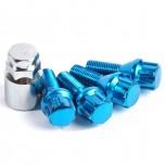 Lock bolts blue (x4)
