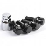 Lock bolts black (x4)